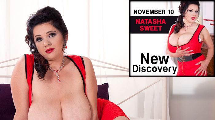 Natasha Sweet aka Nadiya – The new Boobstar!