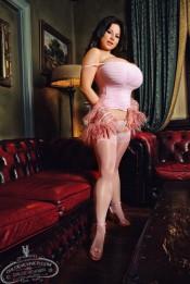 chloe vevrier in stockings