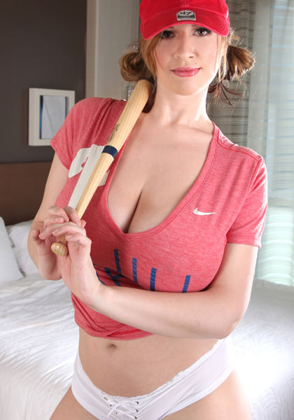 Pretty and big-breasted Lana Kendrick in Philly Fan & Room Service