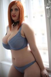 alexsis faye in lingerie photo