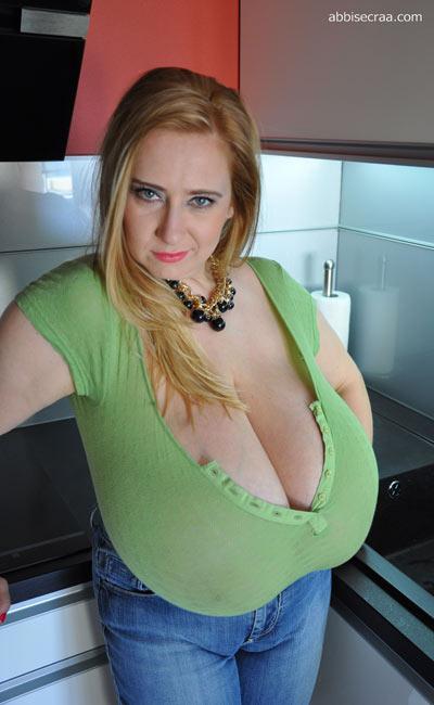 Humongous breasts