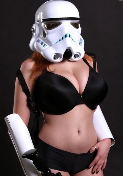 StarWars Sexy Trooper – Tessa Fowler