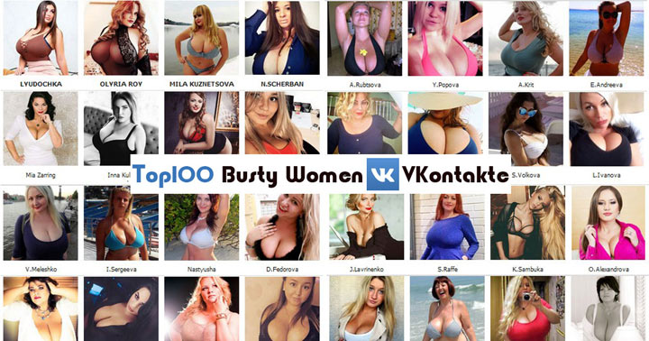 2Busty Women at VK TOP100 List