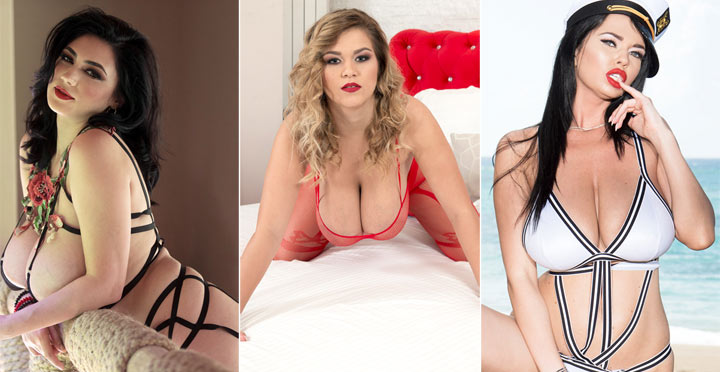 New hot updates of Erin Star, Alexya and Sha Rizel