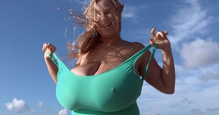 Abbi Secraa in Busty Beauty And Beach
