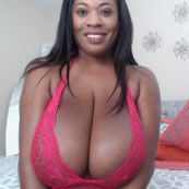 ebony huge tatas