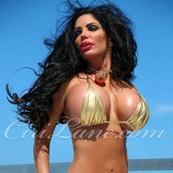ciri lane lingerie model