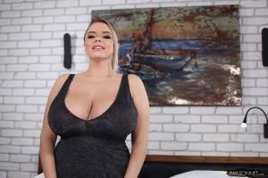 large boobs of vivian blush