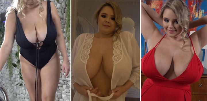 Vivian Blush – Really large 32K natural breasts